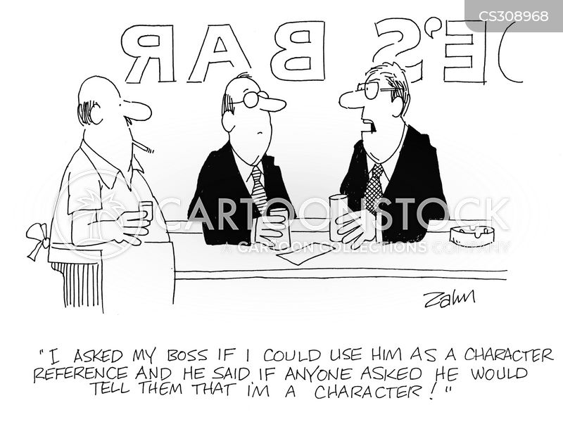character reference cartoons and comics