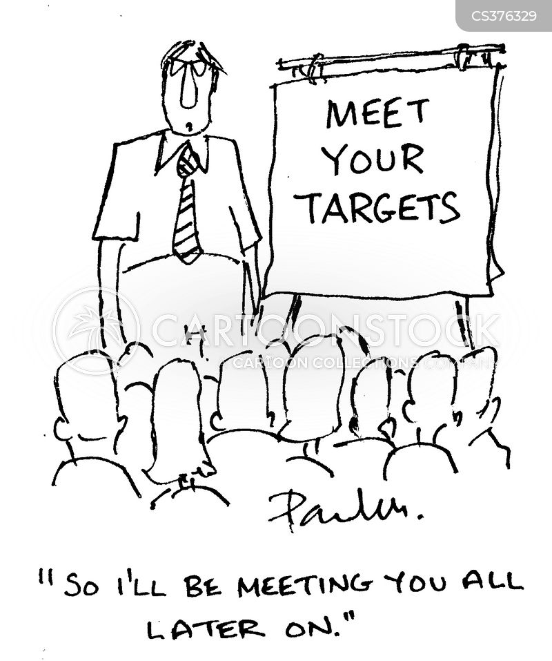 funny cartoons about team meetings