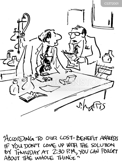 cost benefit cartoons and comics