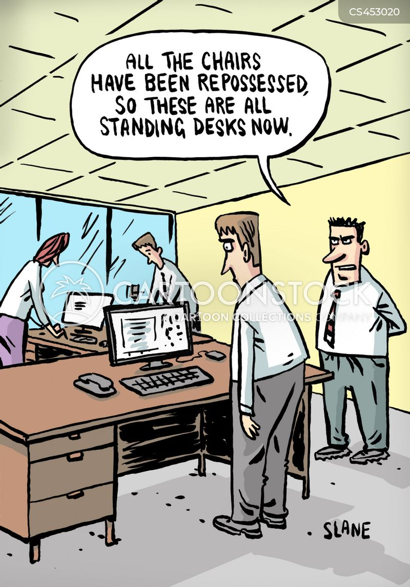 Standing Desks Cartoons And Comics Funny Pictures From