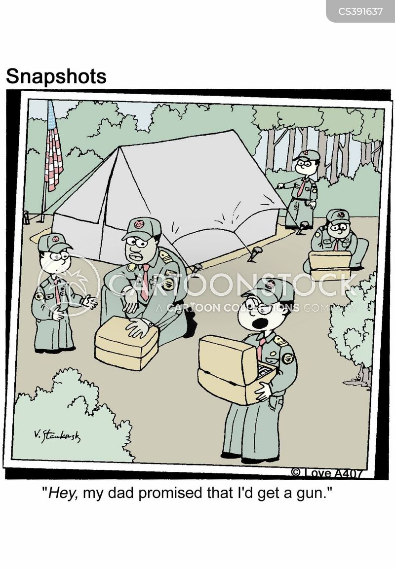 Boy Scout Cartoons And Comics Funny Pictures From