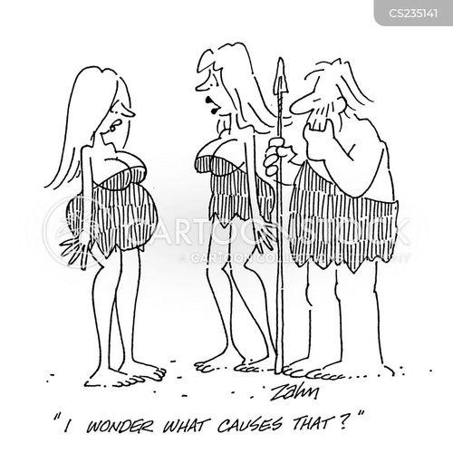Pregnancy Myths Cartoons and Comics
