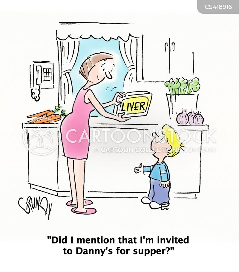 Dinner Plans Cartoons and Comics - funny pictures from CartoonStock
