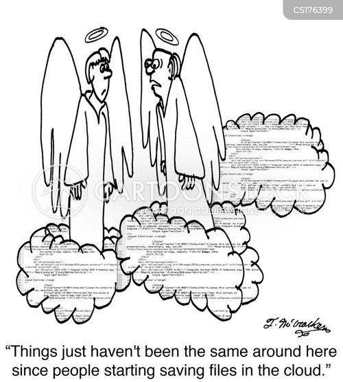 the cloud cartoons and comics