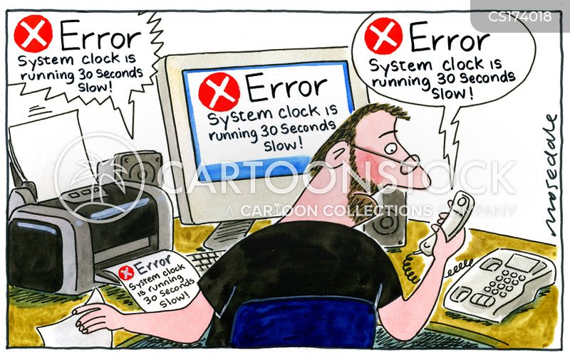 Computer Errors Cartoons and Comics