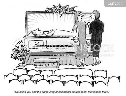 cartoons und karikaturen mit trauer. Black Bedroom Furniture Sets. Home Design Ideas