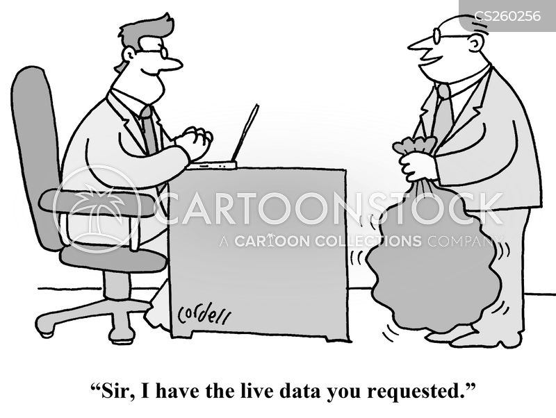Qualitative Data Analysis Cartoon Business Analysis Cart...