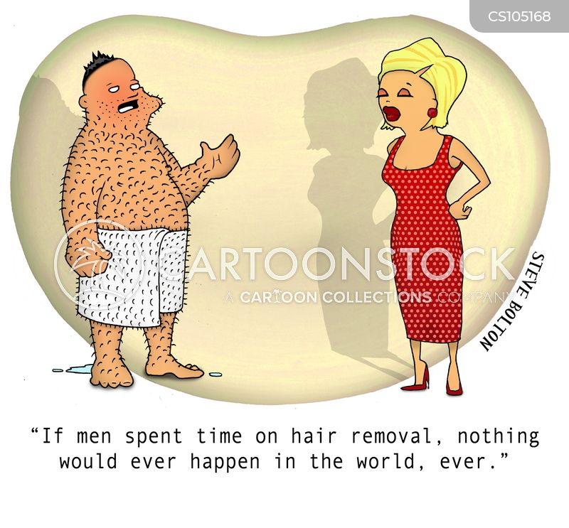 Hair Removals Cartoons And Comics Funny Pictures From