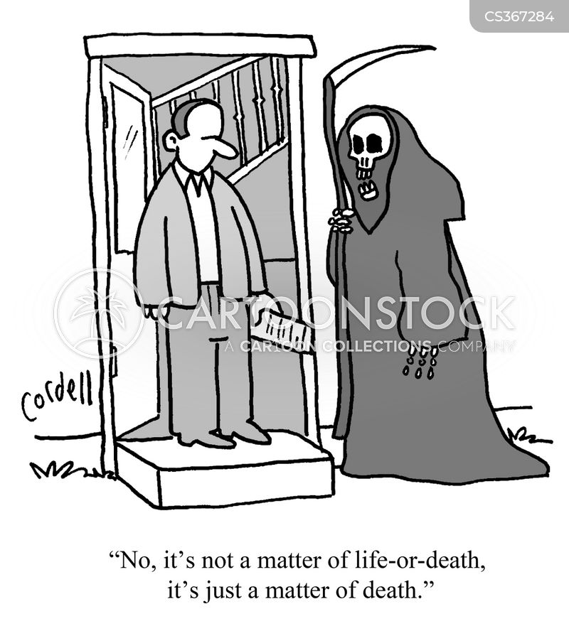 life or death cartoons and comics funny pictures from