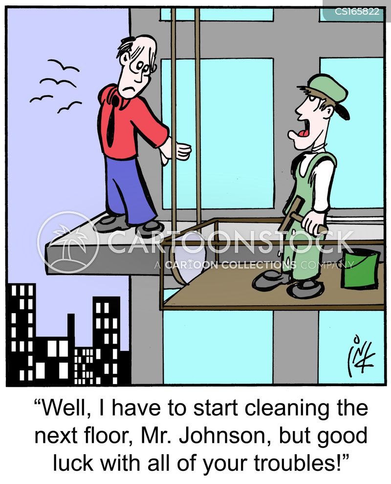Window cleaning cartoons and comics funny pictures from for Window cleaner
