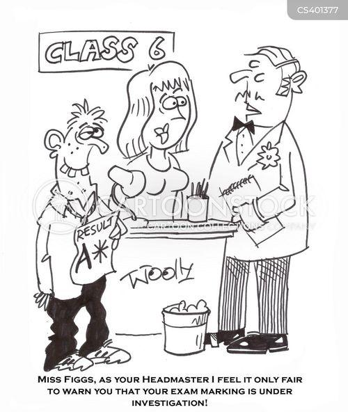 teacher coursework cheating