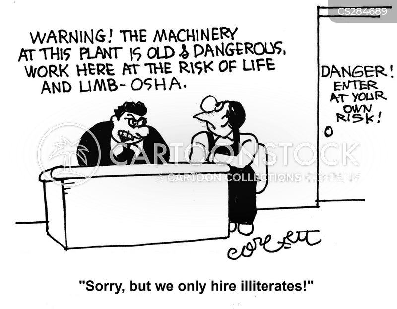 occupational safety and health administration cartoons and