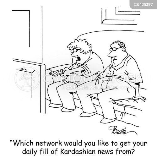 Celebrity gossip networks