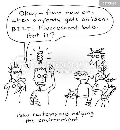 bulb cartoons and comics