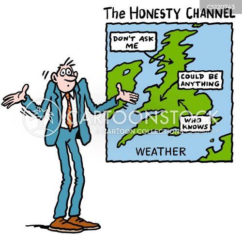 weather map cartoons and comics