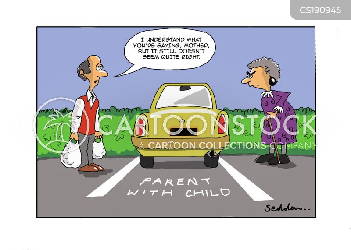 Cartoon Car Parking Lot