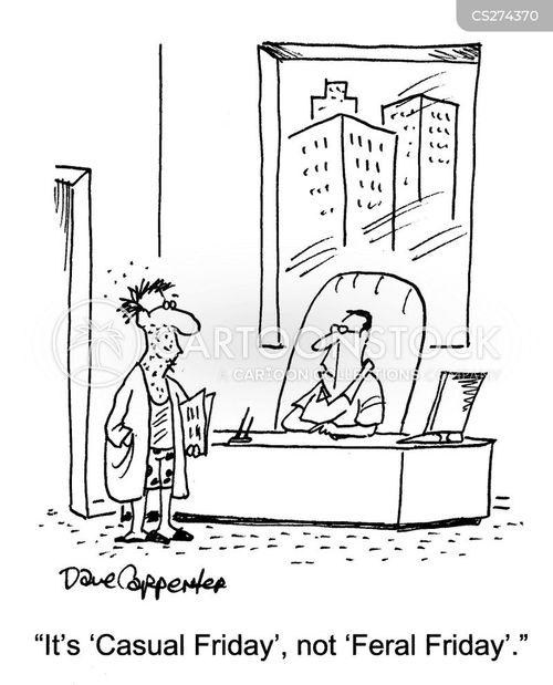 Cartoons Und Karikaturen Mit Unrasiert