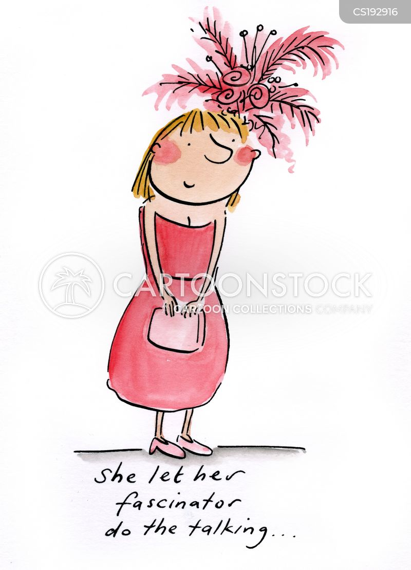 Fascinator Cartoons And Comics Funny Pictures From Cartoonstock