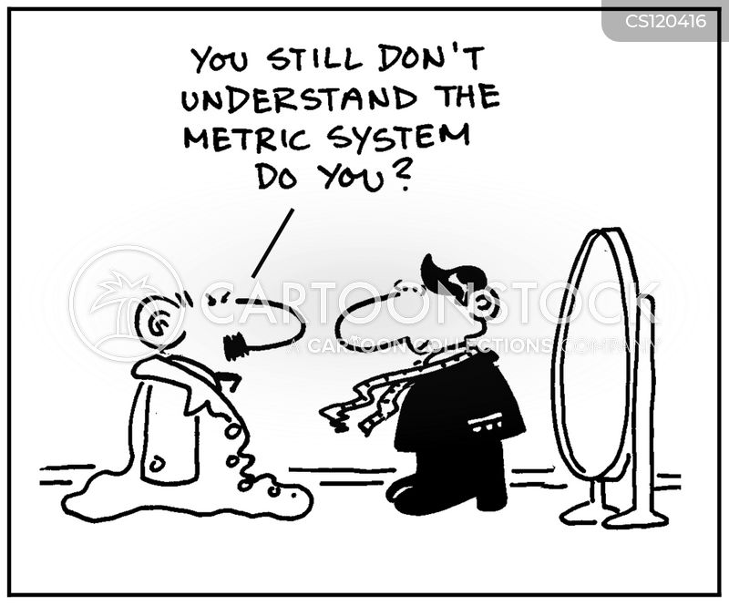 Metric System Cartoons And Comics Funny Pictures From