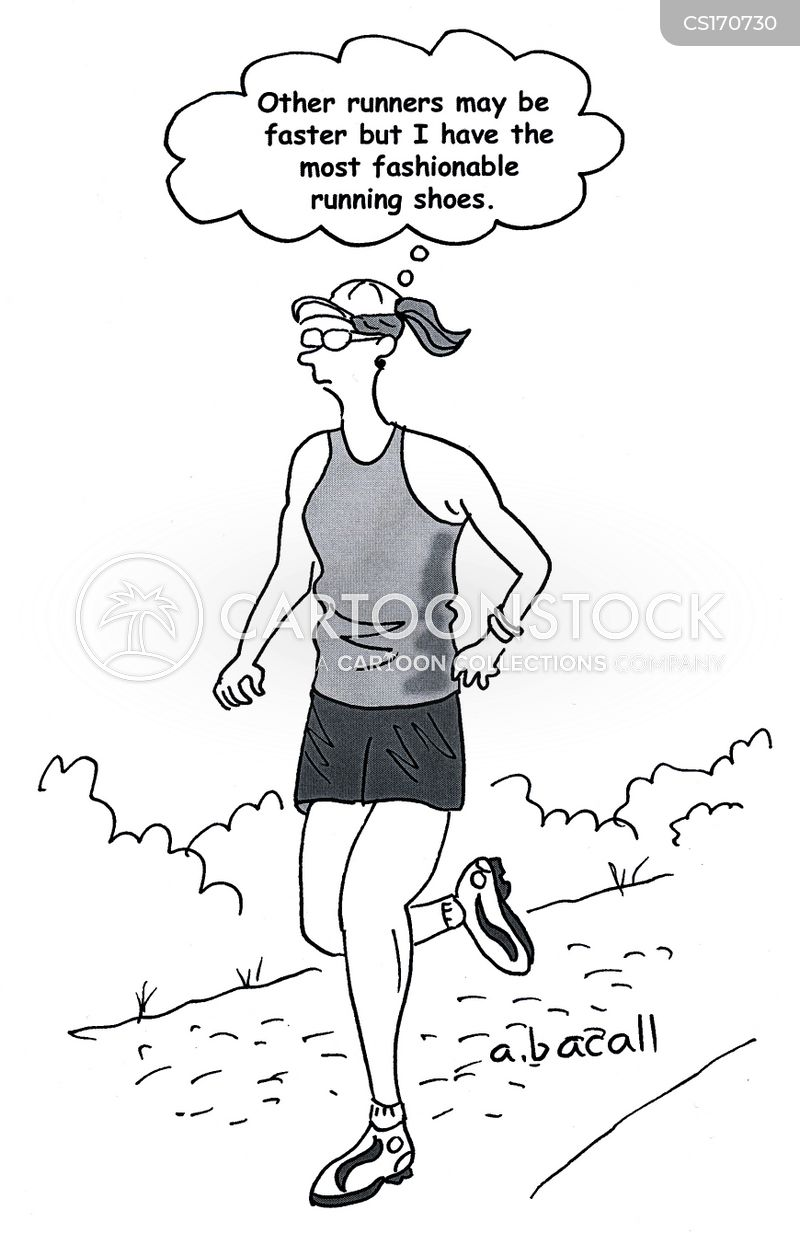 Running Shoe Cartoons And Comics Funny Pictures From