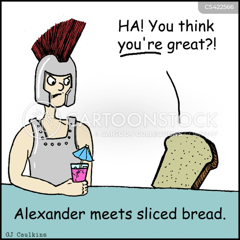 Sliced Breads Cartoons And Comics Funny Pictures From