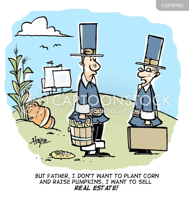 Pilgrim Fathers Cartoons and Comics - funny pictures from CartoonStock