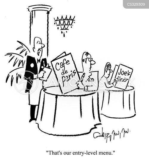 waitor cartoons and comics