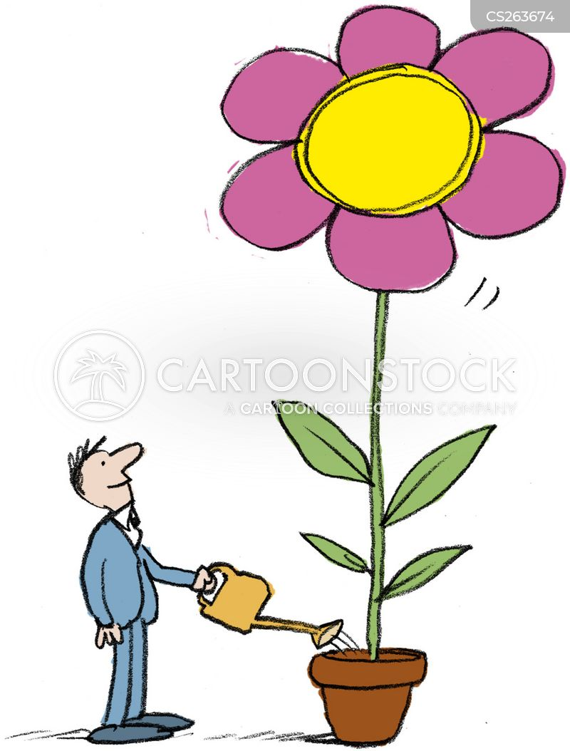 watering flowers cartoons and comics funny pictures from cartoonstock flower pot clip art image flower pot clip art card