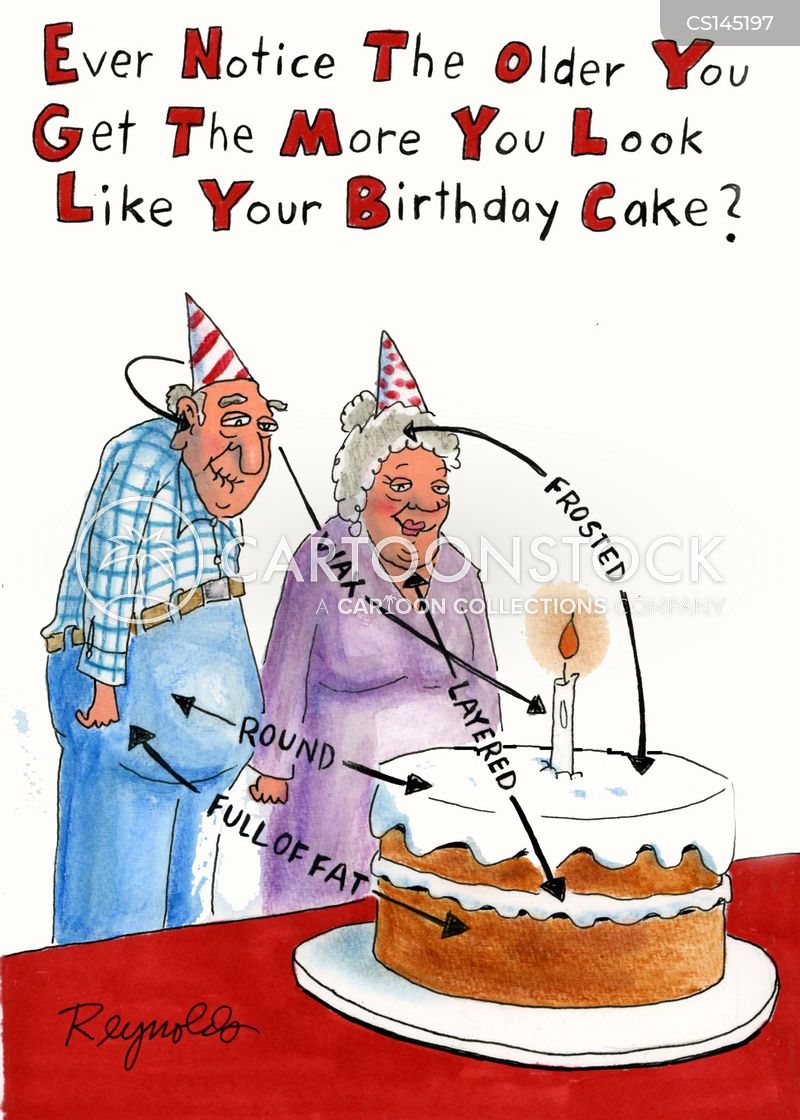 Birthday Cake Cartoons And Comics Funny Pictures From