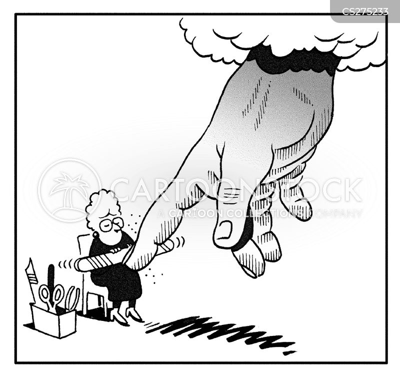 Hand Of God Cartoons And Comics Funny Pictures From