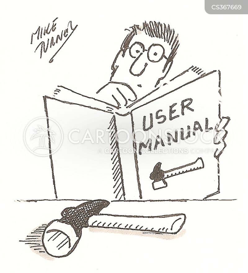 User manual cartoons and comics funny pictures from for Vector canape user manual