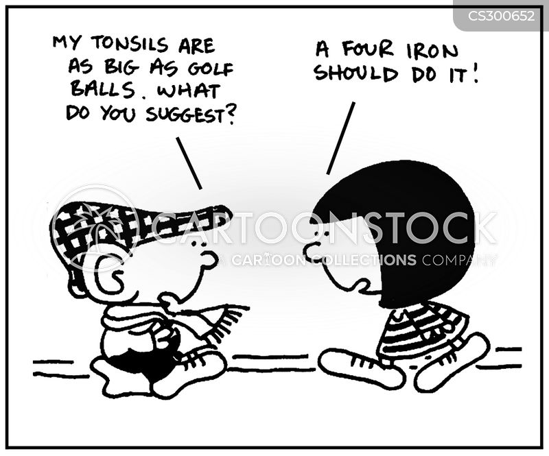 Tonsils Cartoons and Comics