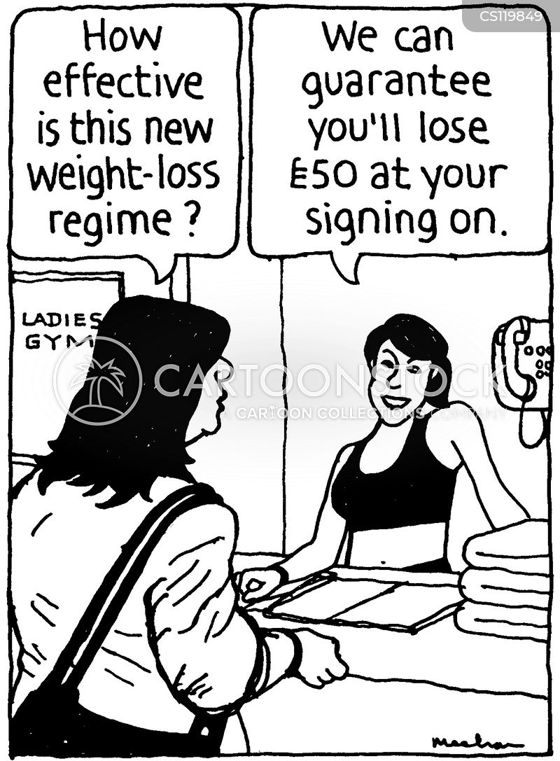Weight-loss Regine Cartoons and Comics - funny pictures ...