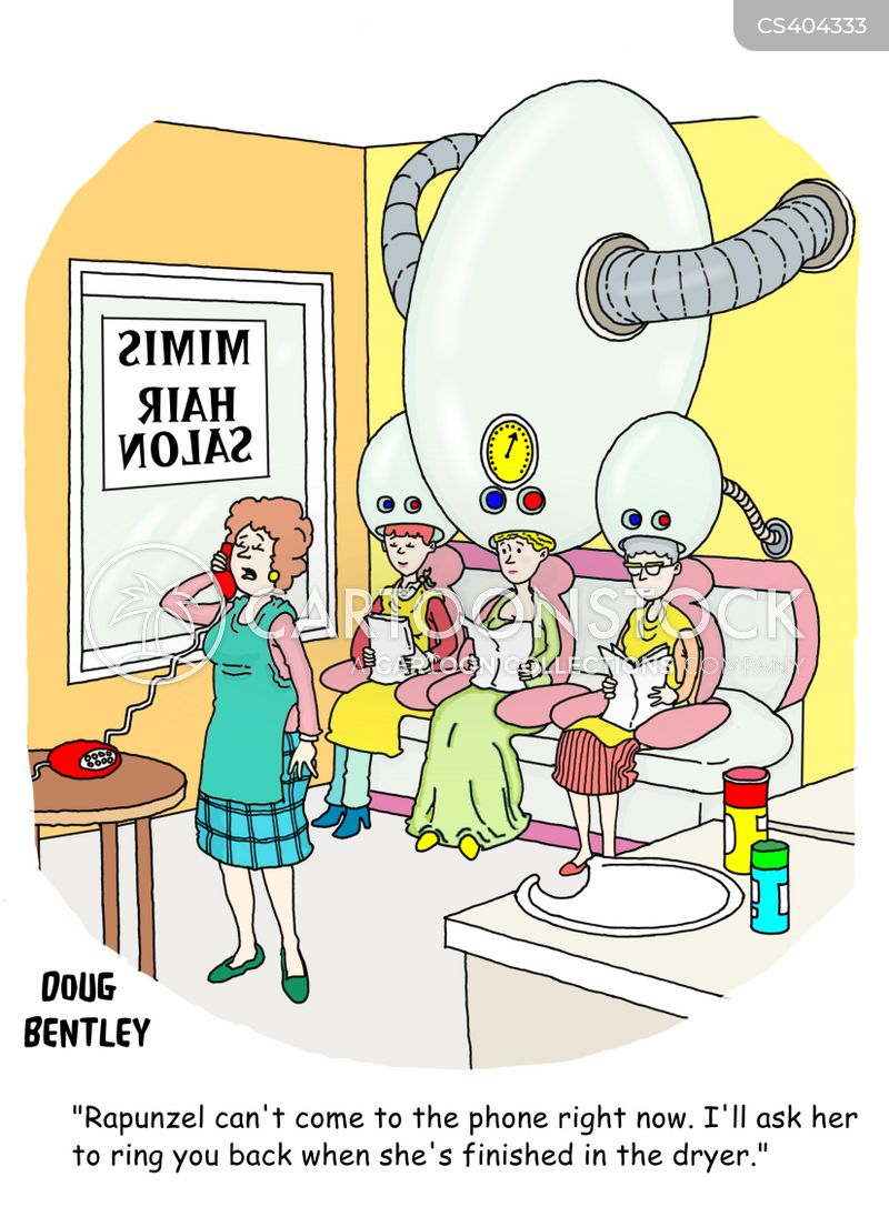 Hair Dryer Cartoons And Comics Funny Pictures From