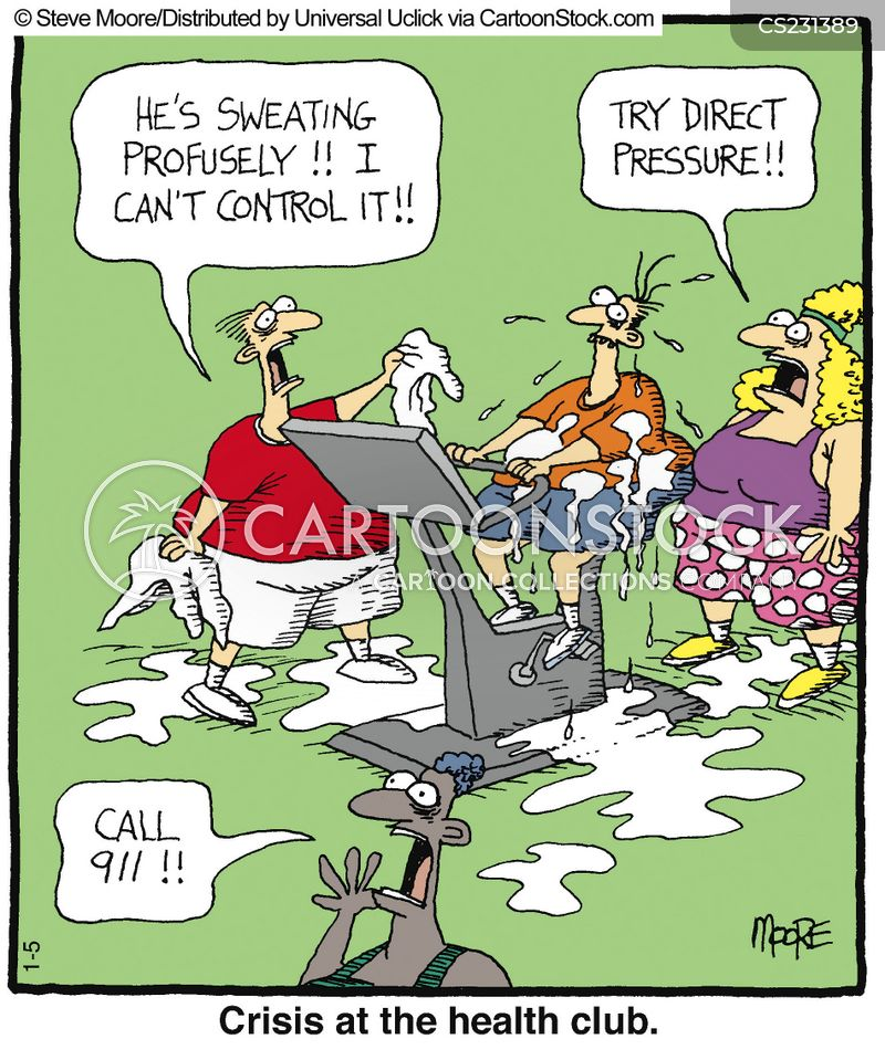 Health And Fitness Cartoons And Comics Funny Pictures From Cartoonstock