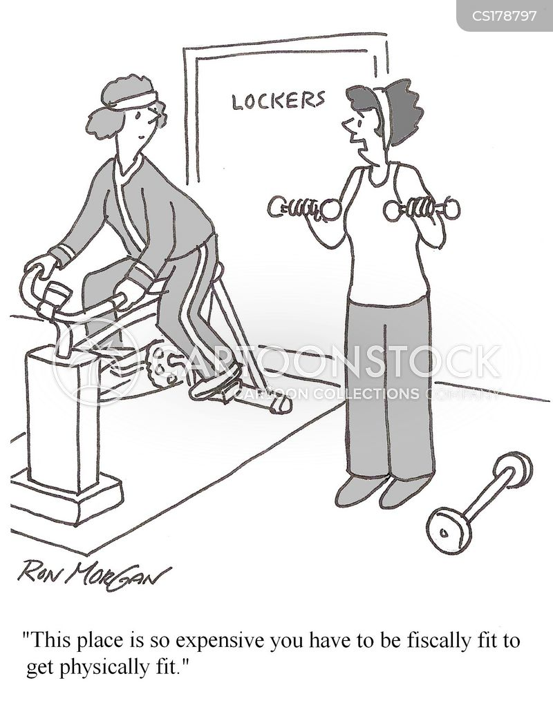 Fitness Regimes Cartoons and Comics - funny pictures from ...