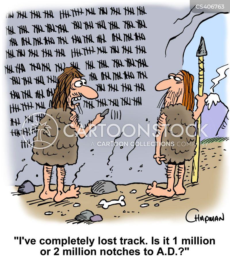 Ancient Calendars Cartoons and Comics