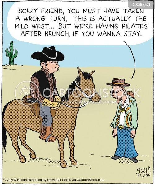 Wrong Turns Cartoons and Comics