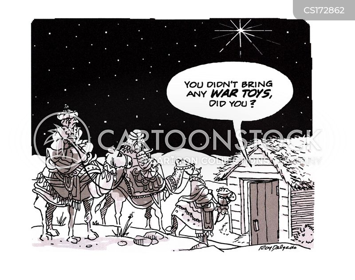 Baby Jesus Cartoons and Comics