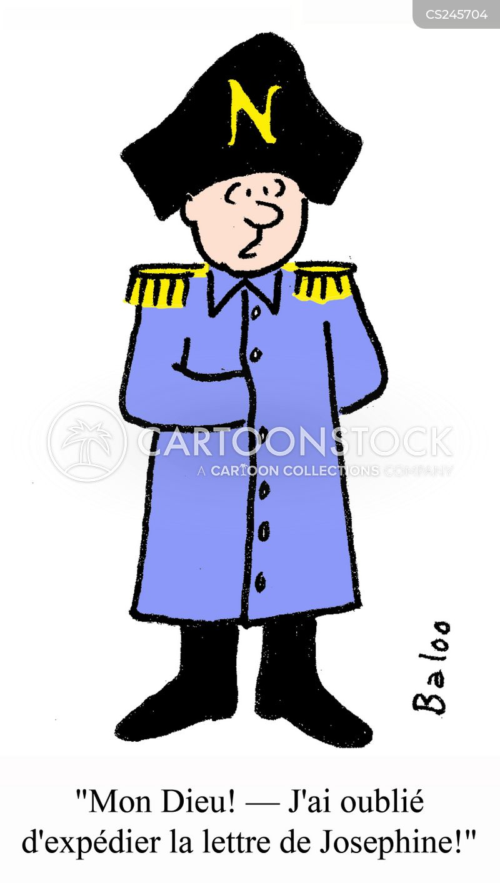 Bonaparte Cartoons And Comics
