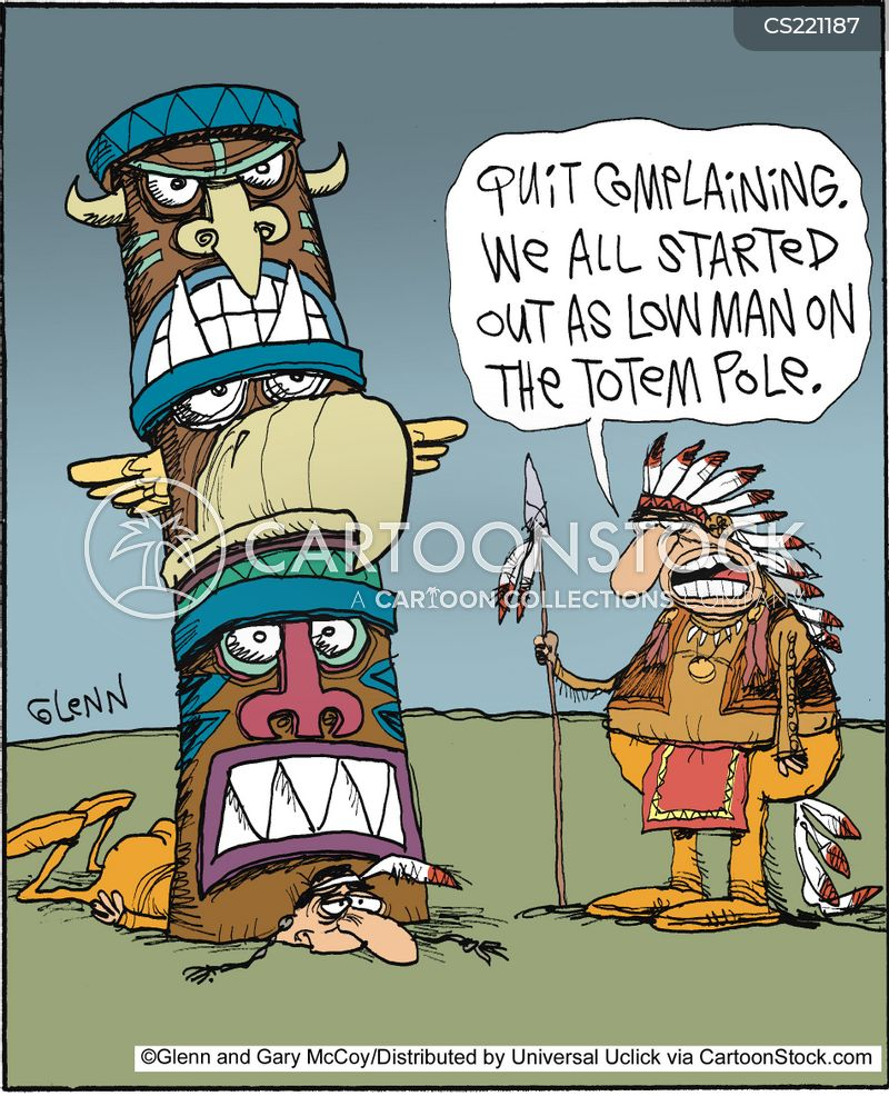 Totem Pole Cartoons And Comics Funny Pictures From