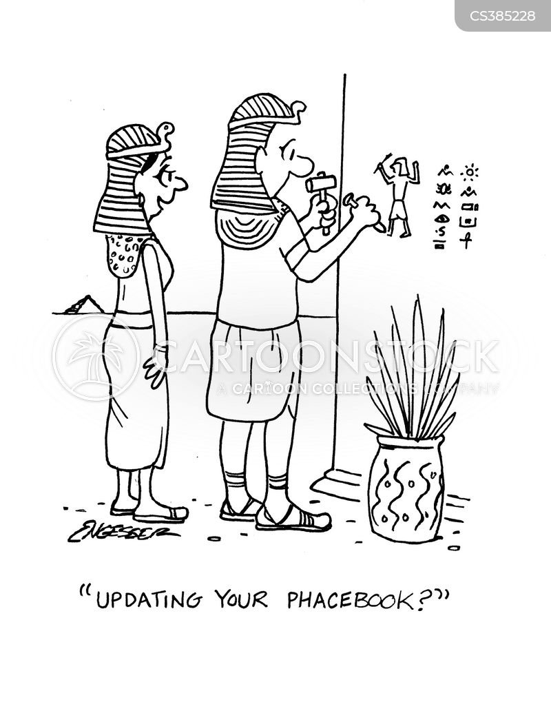 egyptian king cartoons and comics