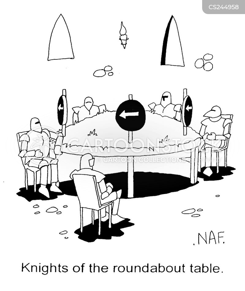 Round tables cartoons and comics funny pictures from for 10 knights of the round table