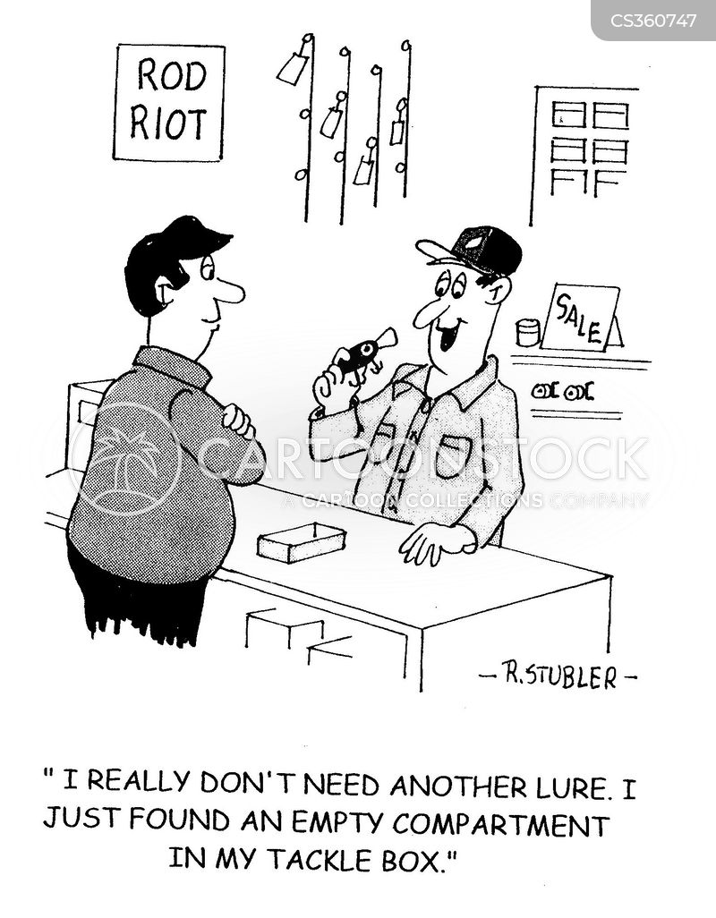 Fishing lure cartoons and comics funny pictures from for Who sells fishing license near me