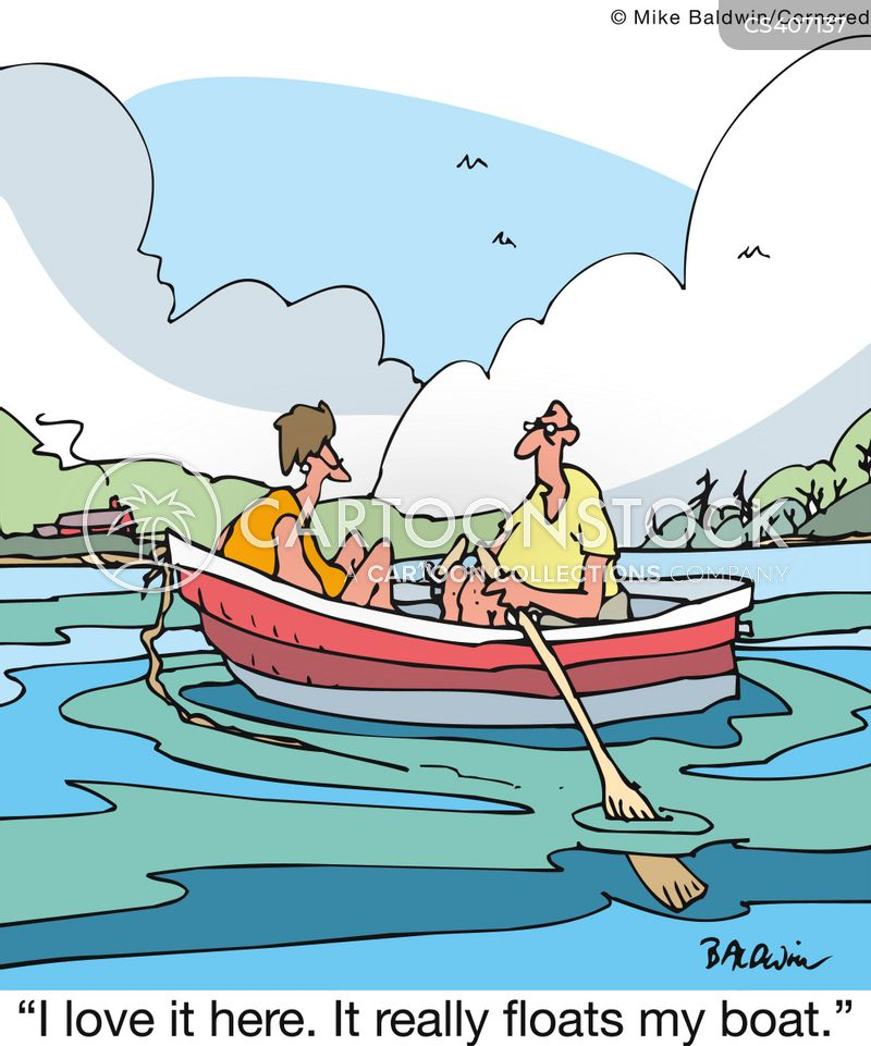 Boat Ride Cartoons And Comics Funny Pictures From