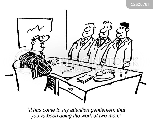 conflict management cartoons funny