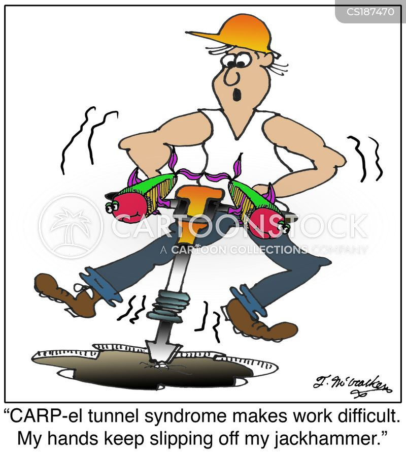 Carpal Tunnel Cartoons and Comics