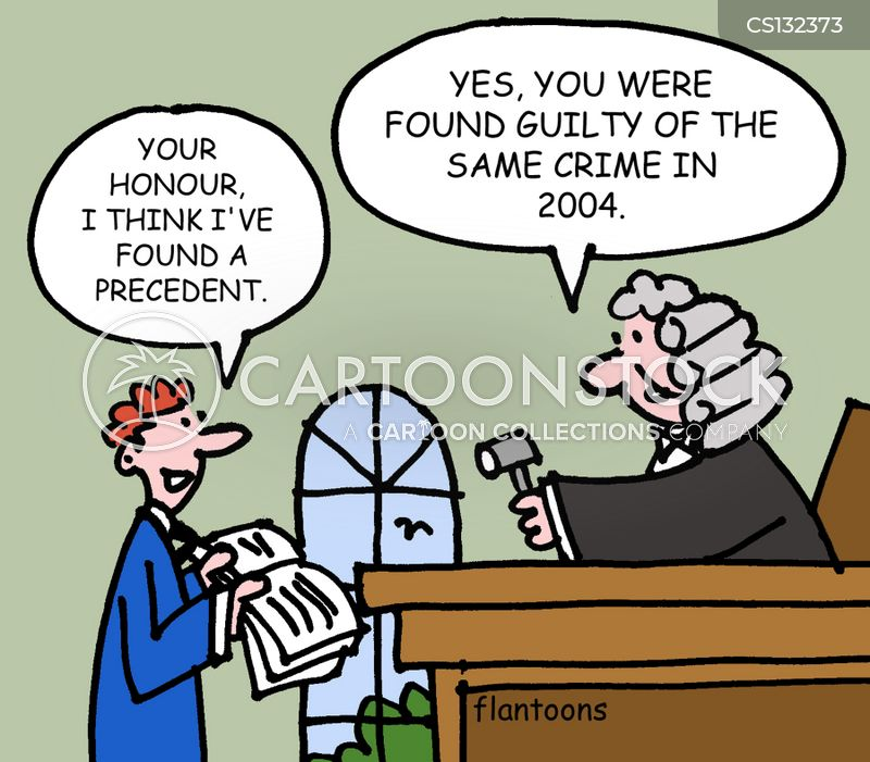 Legal Precedent Cartoons and Comics - funny pictures from ...