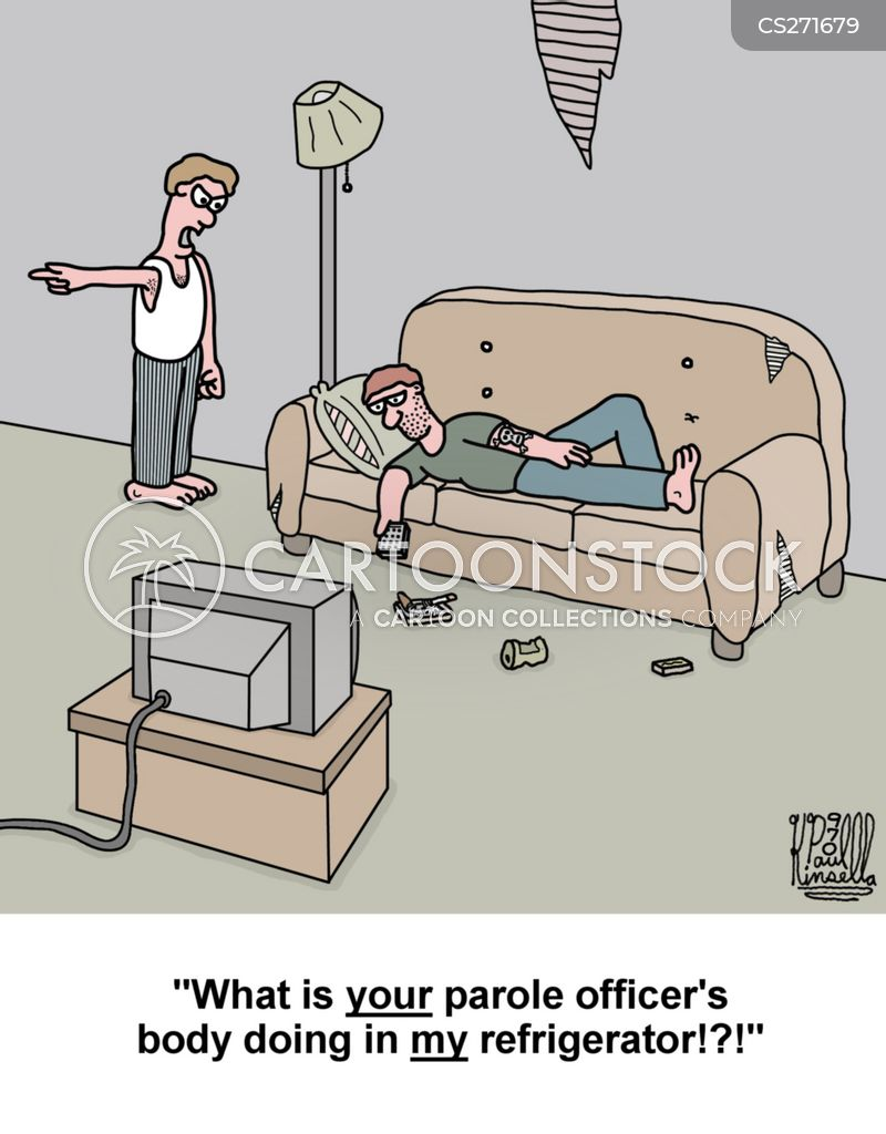 Can a probation officer that comes to your home …