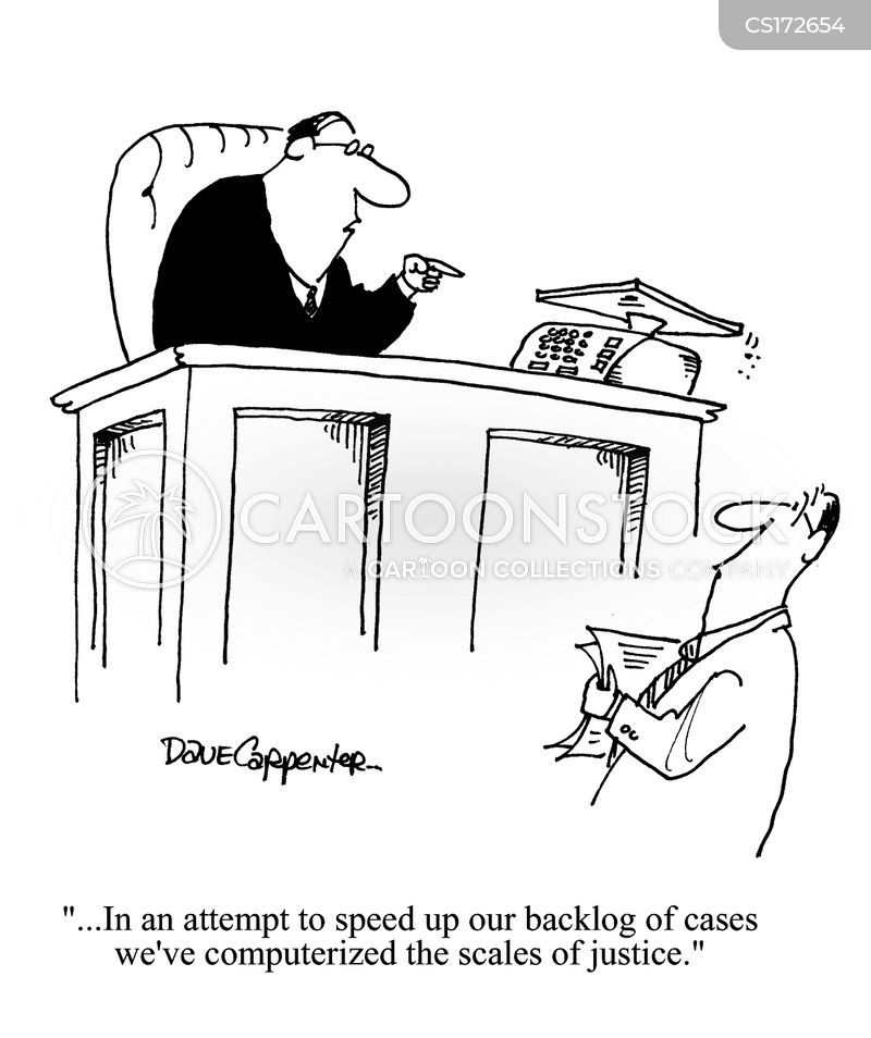 Scales Of Justice Cartoons and Comics - funny pictures ...